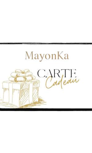 Carte cadeau MayonKa