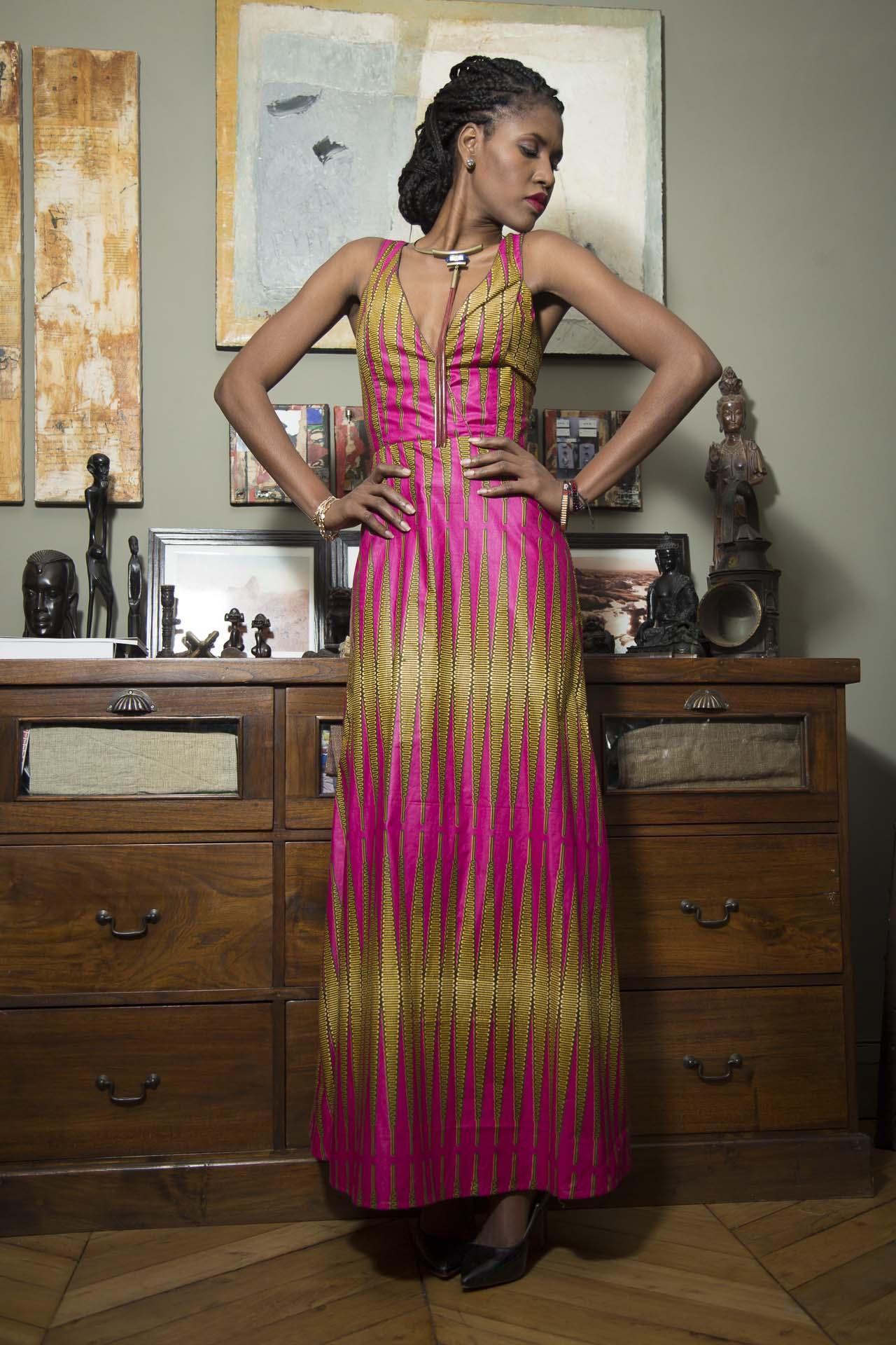 Robe SAVANA création MayonKa (42)