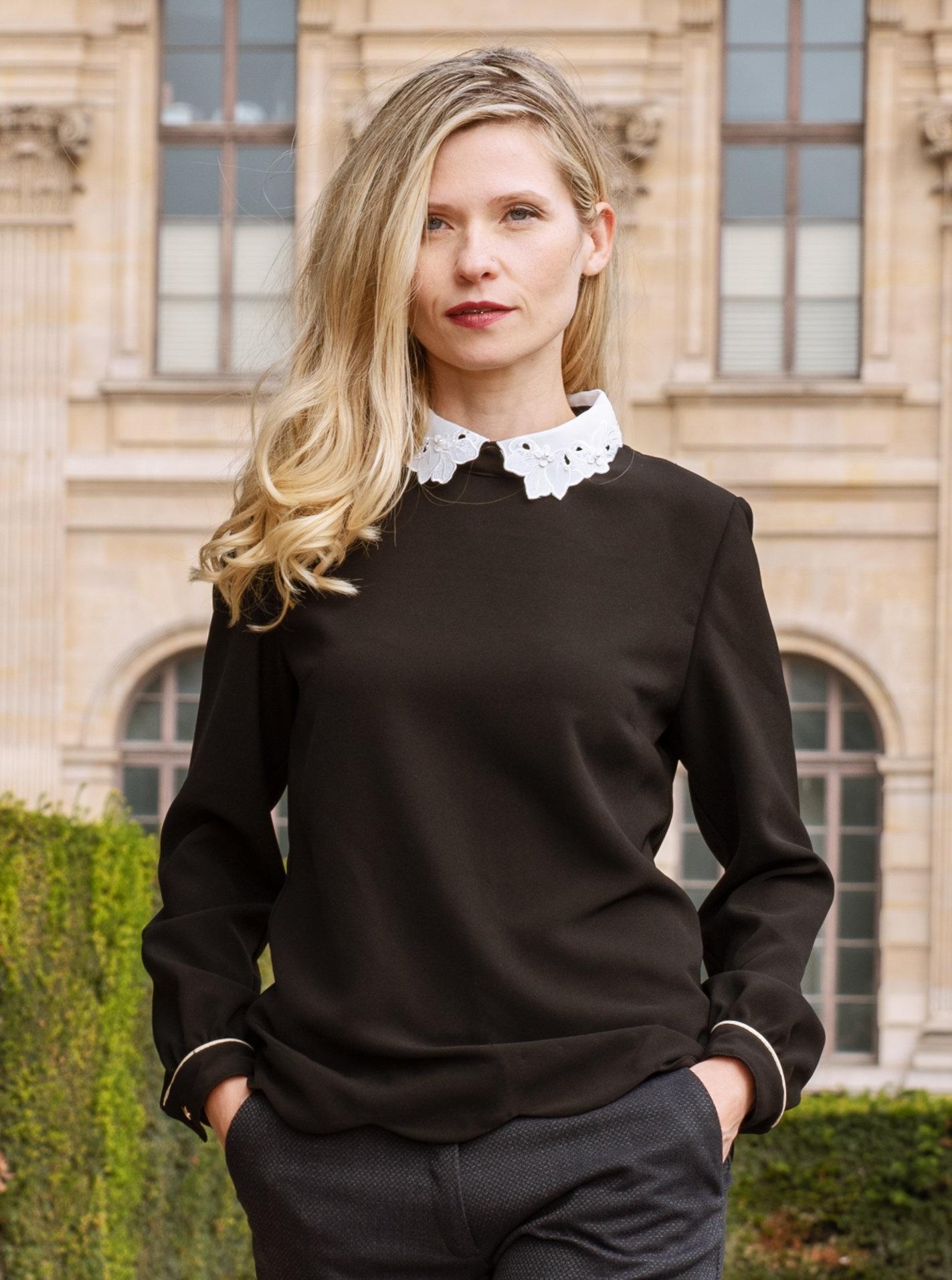 Shooting Mayonka blouse PAULINE (5) – Copie